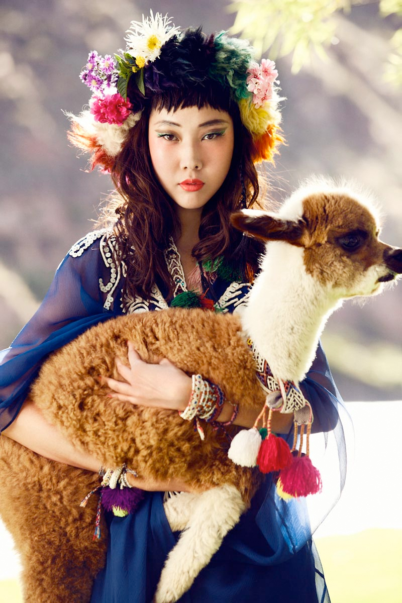5 south korean actress han hye jin photographed in colors of peru by