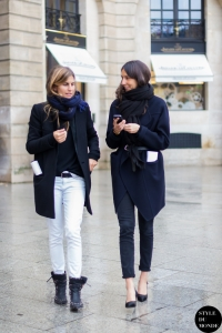 Morgane Bedel and Geraldine Saglio by @styledumonde