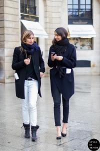 Morgane Bedel and Geraldine Saglio by @styledumonde