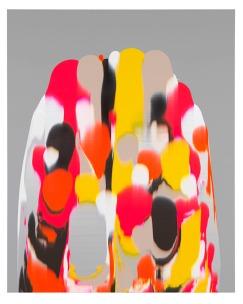 UNTITLED 2014 acrylic on canvas 200 x 160 cm