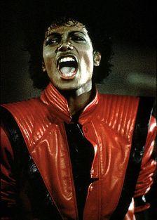 Michael Jackson in Thriller, 1982