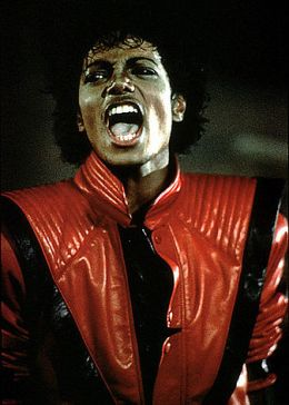 Michael Jackson in Thriller, 1982