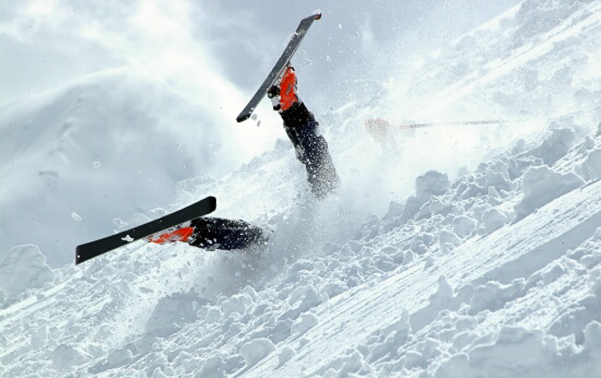 The position I spend most time in when 'skiing'