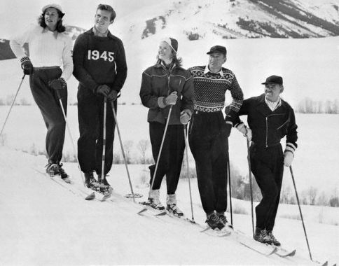 Movie stars on the slopes