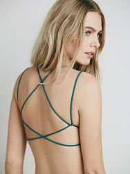 Sun Kissed Strappy Back Bra