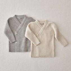 Makie Kimono cardigan for babies $125