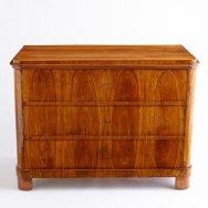 Antique Biedermeier chest $5,200