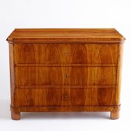 Antique Biedermeier chest $5,200
