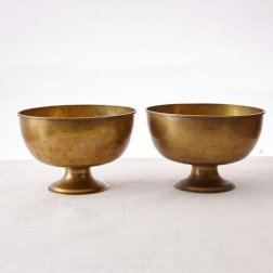 Vintage footed bowls $975