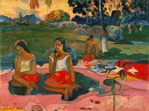 Sacred Spring, Sweet Dreams (Nave nave moe) 1894 by Paul Gauguin