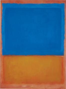 Untitled (Red, Blue, Orange) 1955, Mark Rothko