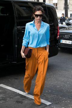 Victoria Beckham in Paris, January 2017