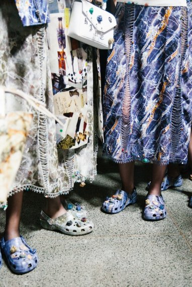 Crocs at Christopher Kane SS17