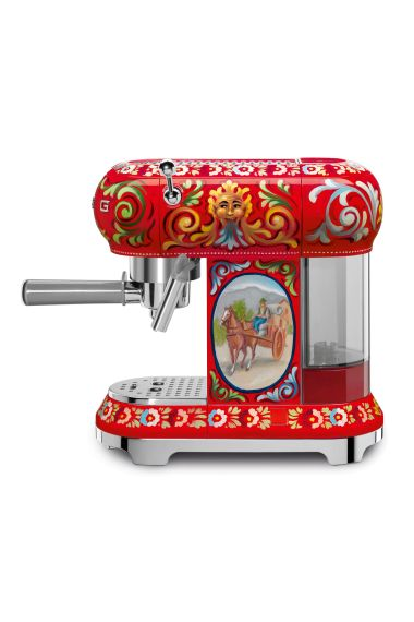 Dolce e Gabbana & Smeg coffee machine, POA
