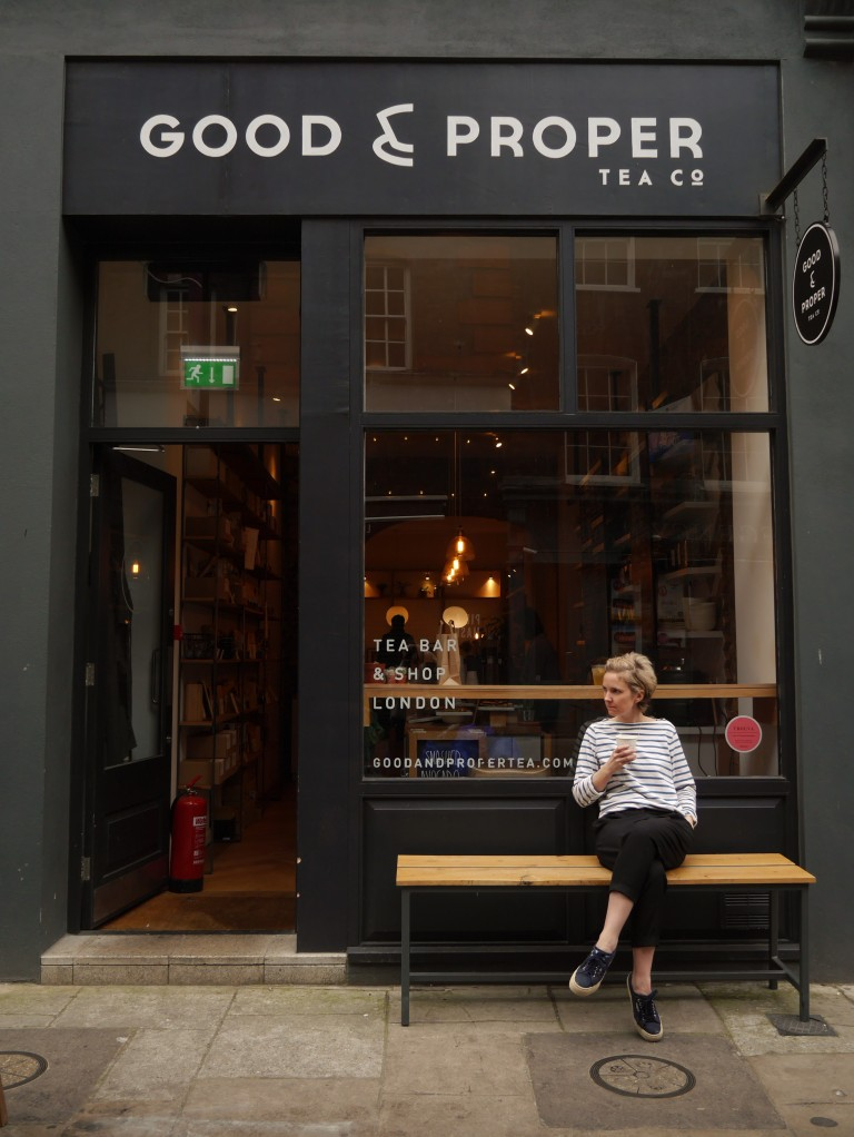 Emilie Holmes, proprietor of Good & Proper Tea