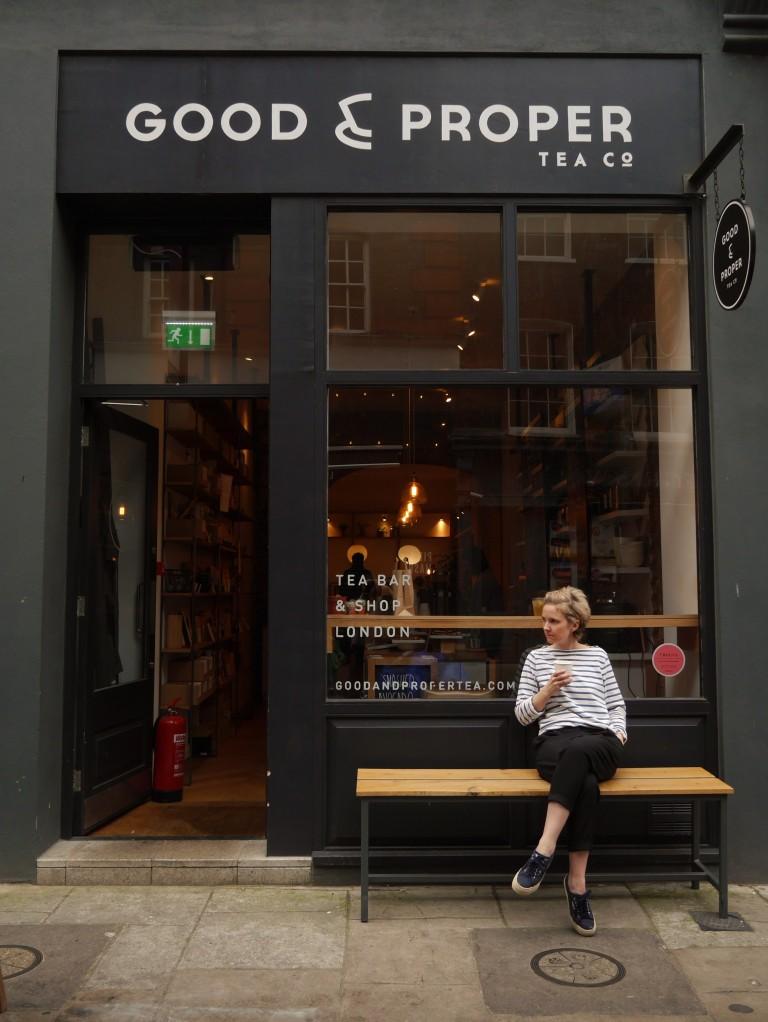 Emilie Holmes, proprietor of Good & Proper Tea