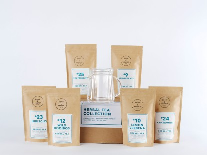 The Herbal Tea Collection Set, Good & Proper Tea, £32
