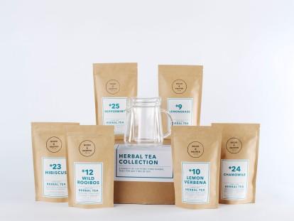 The Herbal Tea Collection Set, Good & Proper Tea, £32