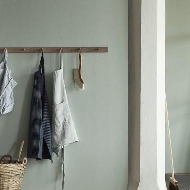 Borstapeter Linen wallpaper / Remodelista