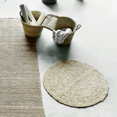Tine K Home's Natural Jute Hemp Rug