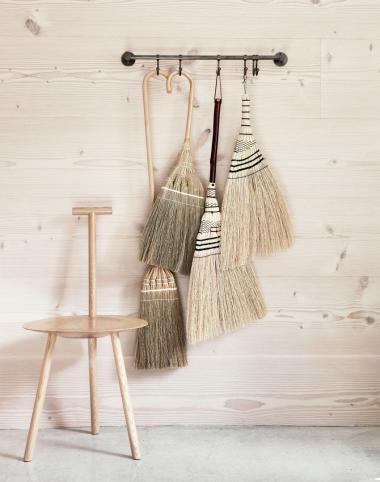 Natural fibre cleaning tools